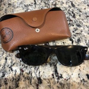 Ray bans with case! Worn twice